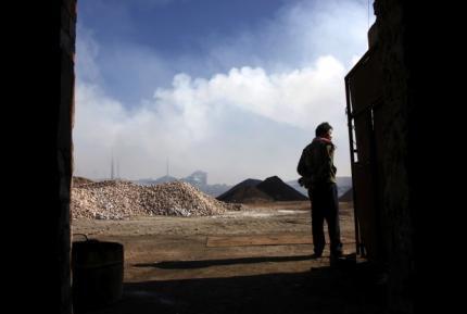 Một địa điểm sản xuất đất hiếm ở vùng Nội Mông, Trung Quốc.