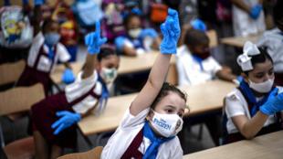 En Cuba, la mascarilla es obligatoria para todos.