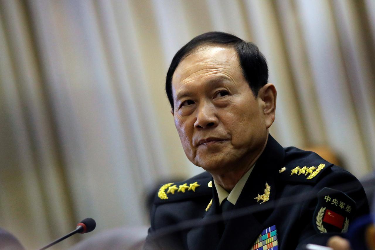 中国国防部长魏凤和资料图片
