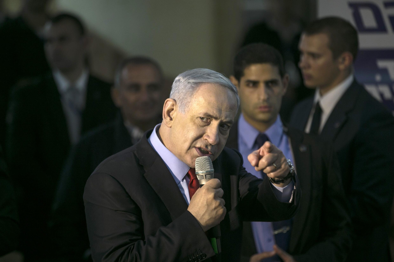 O primeiro-ministro de Israel, Benjamin Netanyahu.