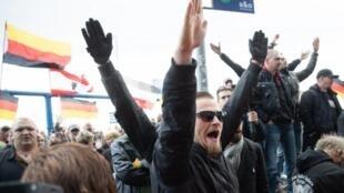 رکورد خشونت طلبان راست، چپ و مسلمان در آلمان شکسته شد