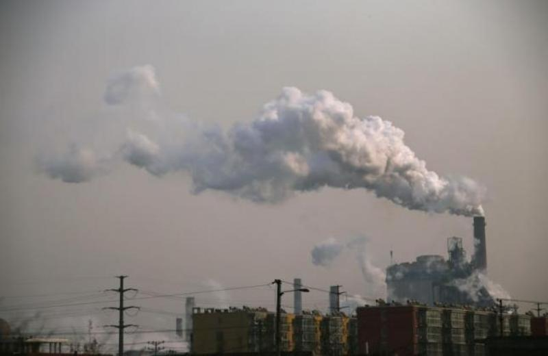 Une acierie dans la province du Hebei, en Chine.