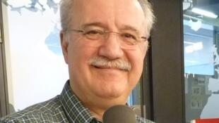 Jaume Torrent en los estudios de RFI.
