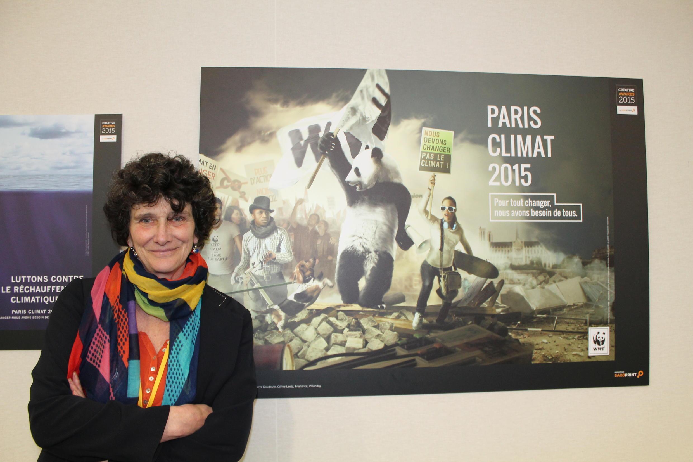 世界自然基金會法國辦公室總裁伊莎貝爾·奧蒂西耶(Isabelle Autissier)