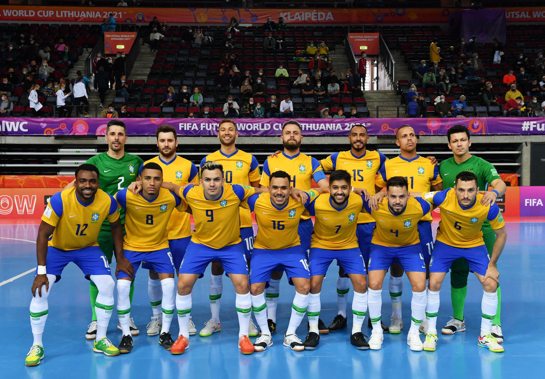 Brasil - Selecção Brasileira - Futsal - Desporto - Canarinha - Mundial - Klaipeda