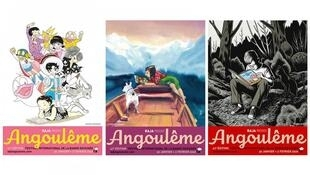 Affiches du 47ème Festival de la Bande dessinée d'Angoulême.