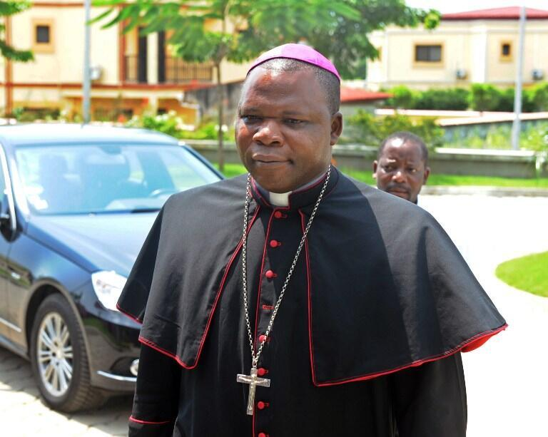 L'archevêque Dieudonné Nzapalainga, le 8 janvier 2013.