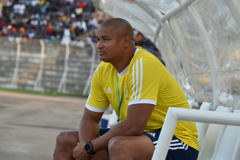 Le gabonais Daniel Cousin, nouveau co-sélectionneur du Gabon. Ici, en septembre 2017.