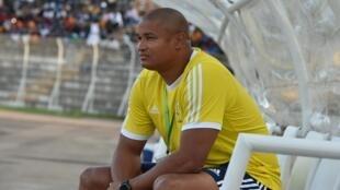 Daniel Cousin, entraîneur du Gabon.
