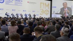 """سخنرانی """"آنتونیو گوترش""""، دبیر کل سازمان ملل متحد، در """"همایش اقتصادی سن پترزبورگ""""، پنجشنبه ۱۶ خرداد/ ۶ ژوئن ٢٠۱٩"""