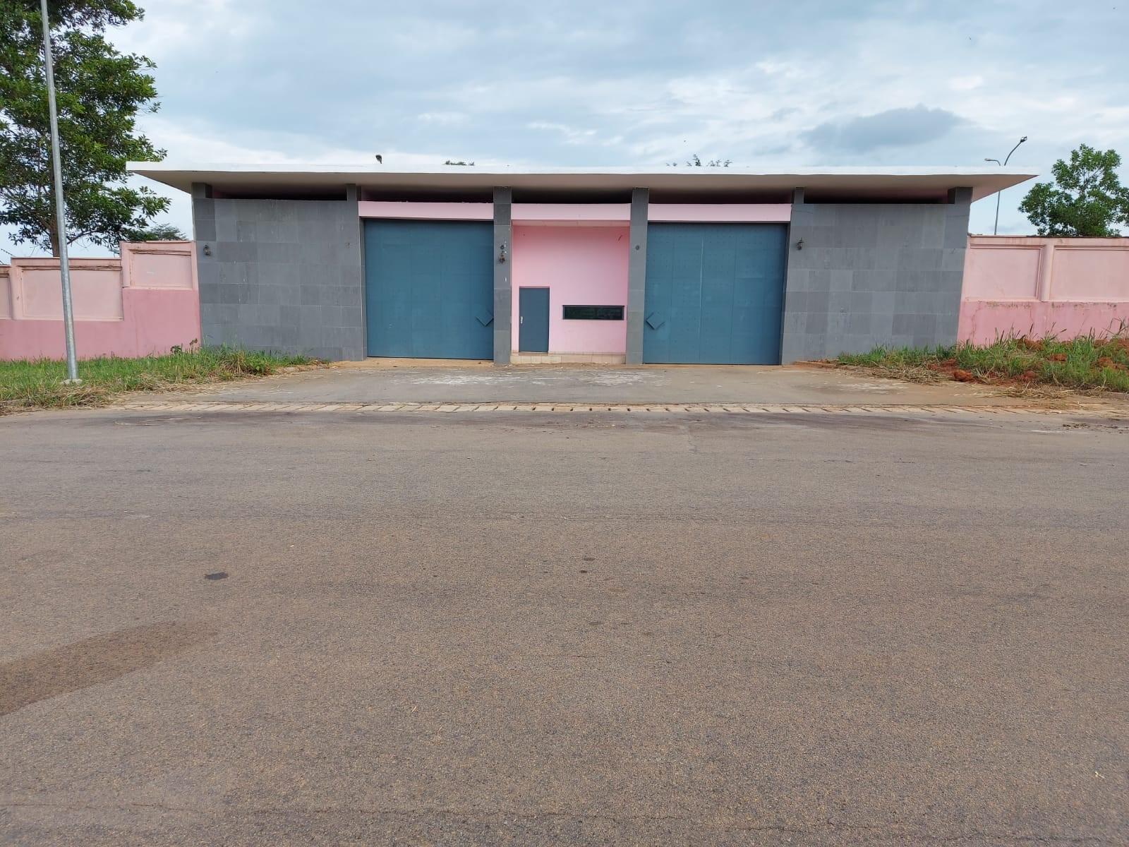Vue de la résidence de Laurent Gabgbo à Mama, le 14 juin 2021.