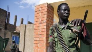 Dakarun gwamnatin Sudan ta kudu.