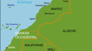 Le Sahara Occidental.