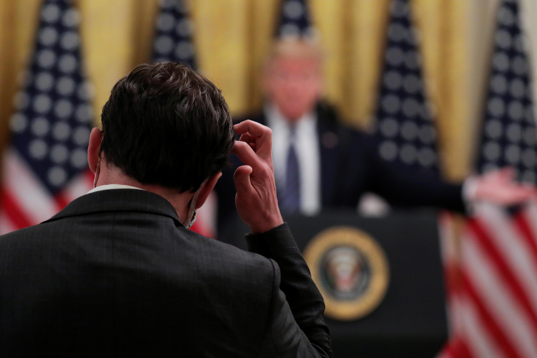 Presidente americano Trump quer sancionar a China por causa do coronavírus