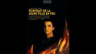 Affiche de «Portrait de la jeune fille en feu» de Céline Sciamma en compétition au Festival de Cannes 2019.