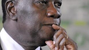Alassane Ouattara está sob a proteção da ONU.