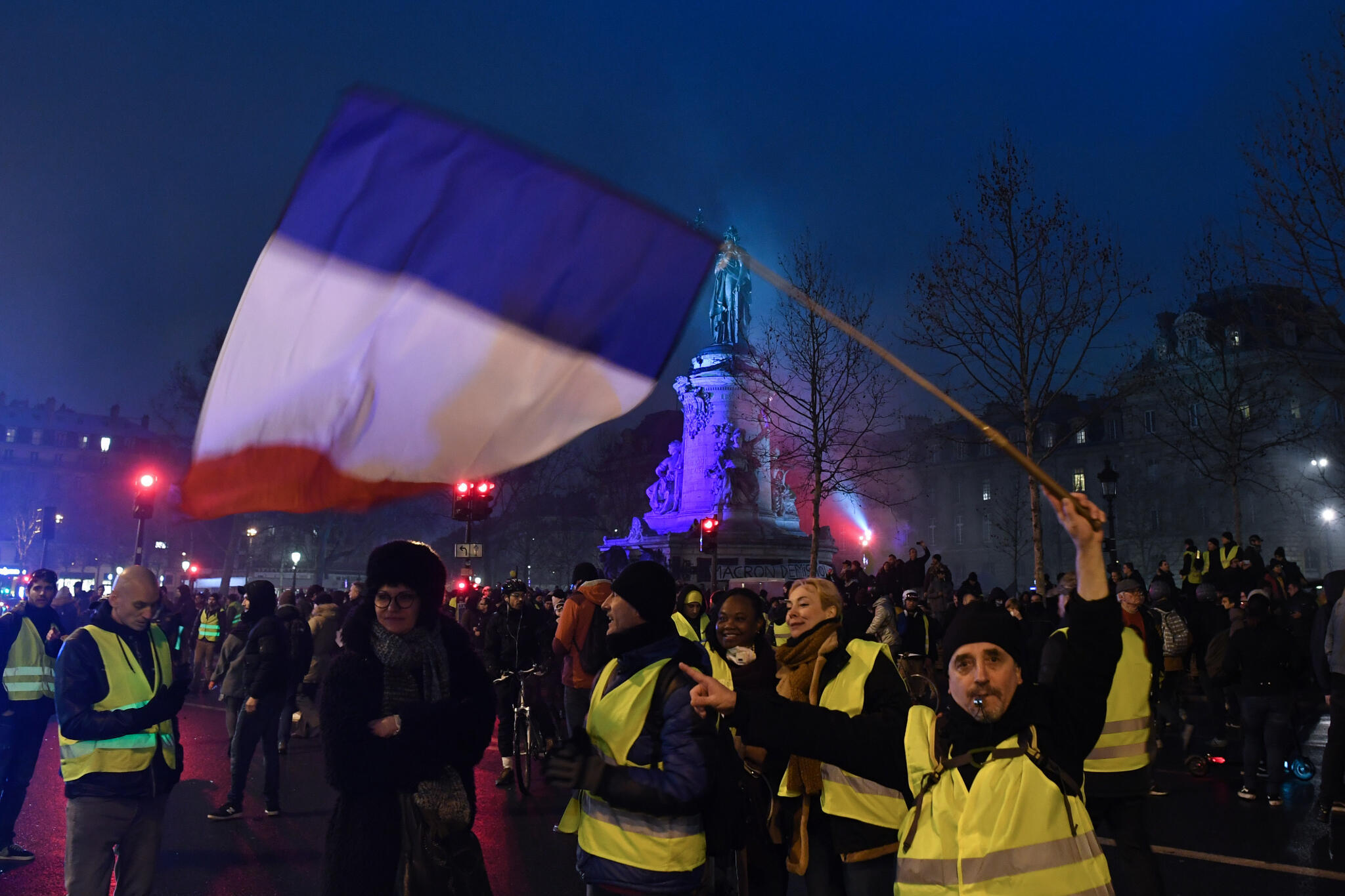 Uncertainty over the future of the Yellow vest protest movement makes 2019 economic growth predictions difficult