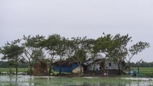O ciclone Bulbul provocou ventos de até 120 km/h na Índia e em Bangladesh