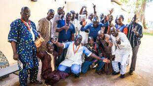 Rencontre avec des radios partenaires du Mali, à l'Institut français de Bamako, en novembre 2017.