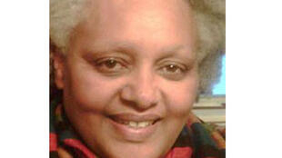 Ghennet Girma, opposante éthiopienne, membre du PRPE  vivant en exil à Paris.