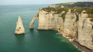 Litoral da Normandia, uma das mais charmosas regiões do norte da França.