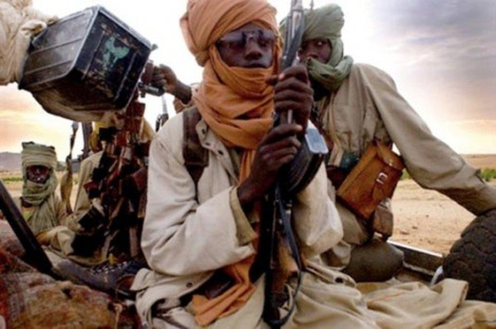 Combattants jihadistes au Mali (Illustration).