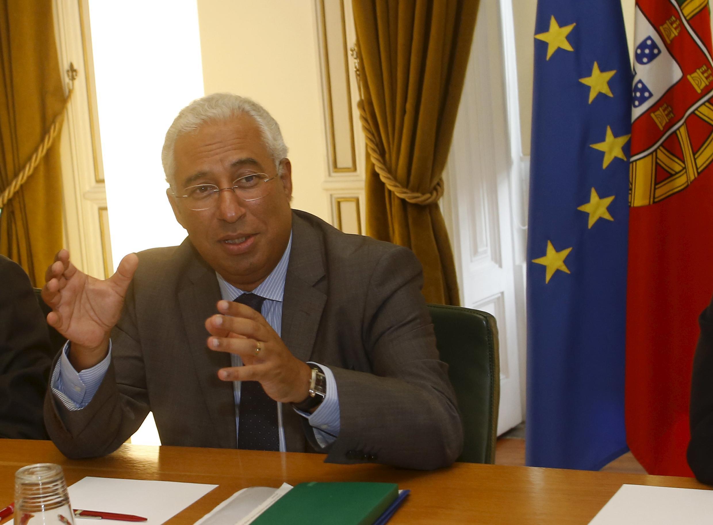 António Costa, líder do Partido Socialista português.
