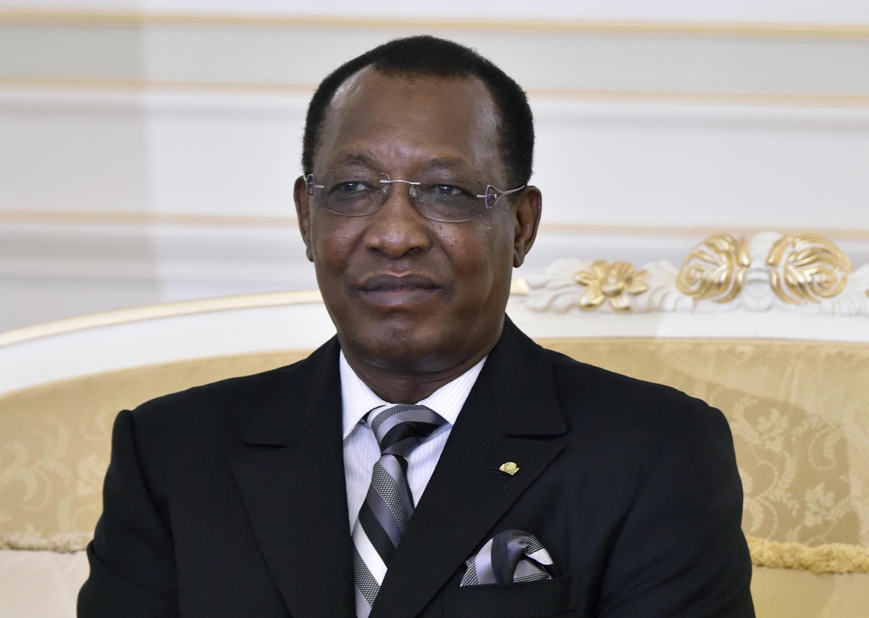 Le président du Tchad, Idriss Déby à Ndjamena, le 22 novembre 2014.