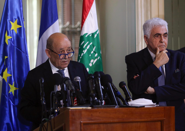 ژان ایو لودریان در بیروت به مقامات لبنانی نسبت به لزوم انجام هر چه سریعتر اصلاحات اقتصادی هشدار داد.