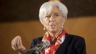 Mkurugenzi wa shirika la fedha duniani IMF Christine Lagarde