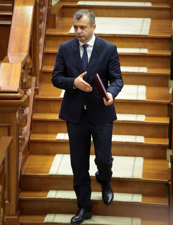 Ион Кику в парламенте Молдовы, 14 ноября 2019