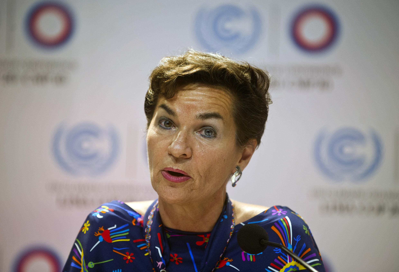 La costaricaine Christina Figueres, responsable climat de l'ONU, a notamment mené les négociations de la COP21 à Paris.