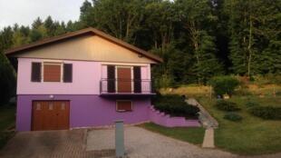 La maison de Jacqueline et Marcel Jacob, à Aumontzey dans les Vosges.