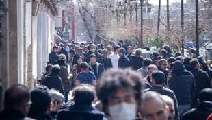 Téhéran centre de diffusion du virus