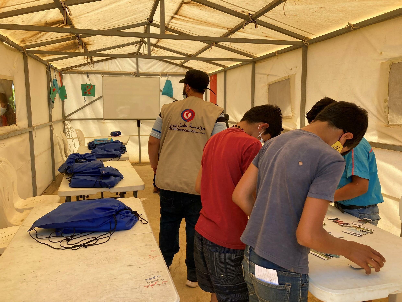 Enfants réfugiés au Liban, enfant qui travaillent