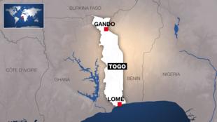 Les communautés Gangan et Tchokossi se sont affrontés sur fond de conflit foncier à Gando, au Togo.