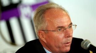 Sven-Goran Eriksson vai participar da Copa do Mundo na África do Sul como técnico da Costa do Marfim.