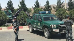 گشت نیروهای انتظامی در کابل