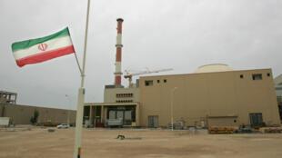 Central nuclear de Bushehr, no Irão. 03 de Abril de 2007.