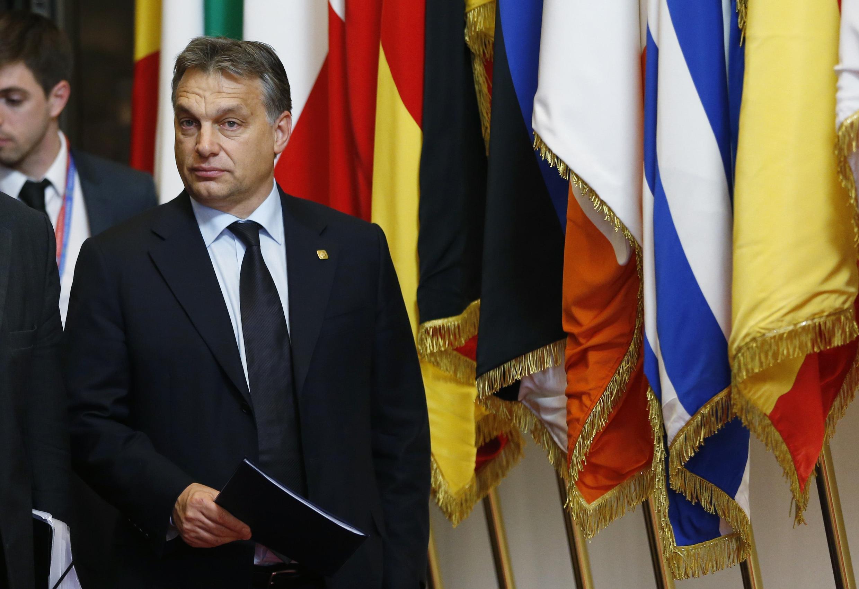 Thủ tướng Hungary Viktor Orban tại cuộc họp Thượng đỉnh châu Âu 23/11/2012.