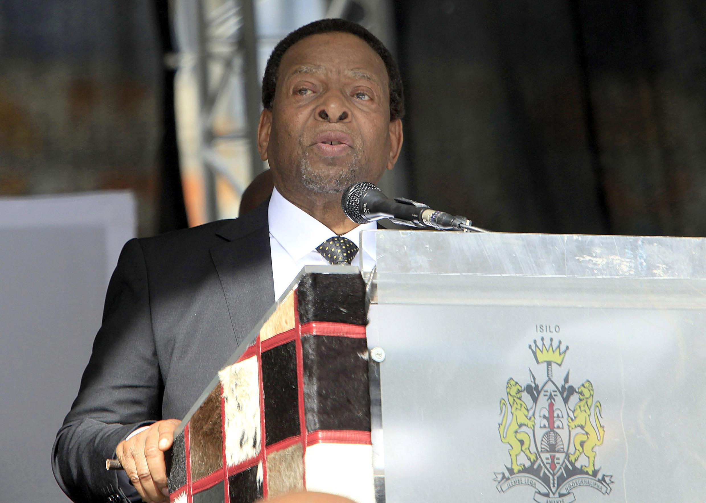 Le roi des Zoulous Goodwill Zwelithini, ici en 2015.