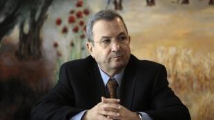 O ministro da Defesa de Israel, Ehud Barak.