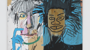 Jean-Michel Basquiat. Dos Cabezas, 1982.