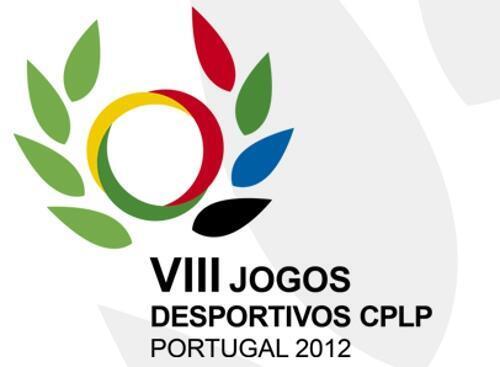 Logótipo dos VIII Jogos Desportivos da CPLP