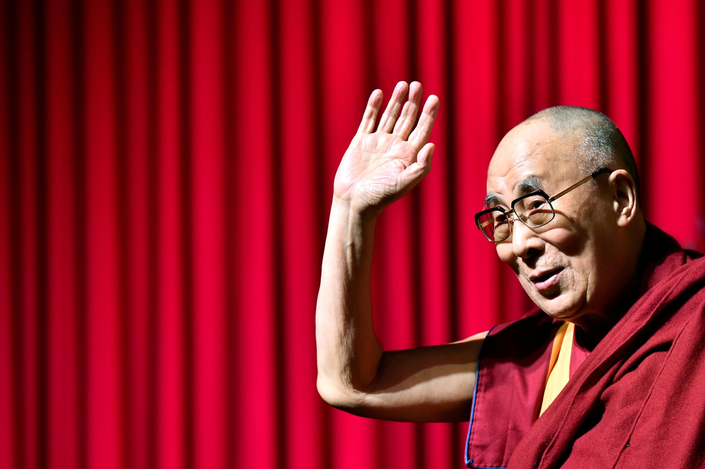 Le Dalaï Lama lors d'une conférence à Bruxelles, le 11 septembre 2016.