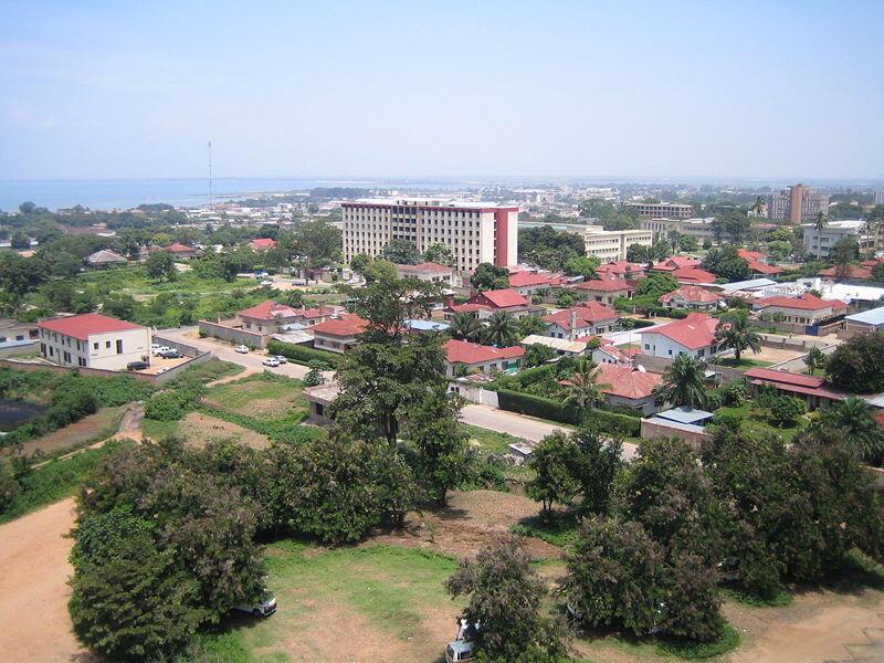 Vue de Bujumbura.