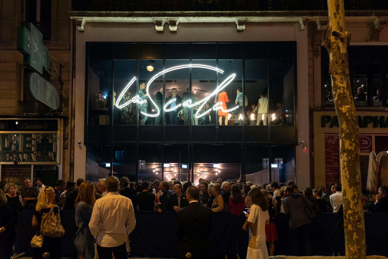 Reabertura do Scala de Paris (11/09/18).