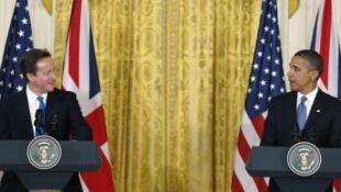 Shugaban Amirka da PM Britaniya