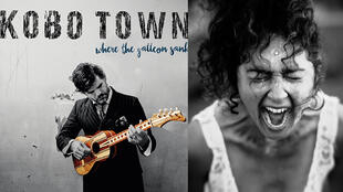 "Kobo Town Cd ""Where The Galleon Sank"" (Because Music) + Ann O'aro (photo Florence Le Guyon)."
