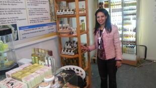 Jouhara Benmaachou. Ingénieure en application en biologie, prépare un master spécialisé dans les plantes aromatiques et médicinales à l'université Moulay Ismail de Meknès.
